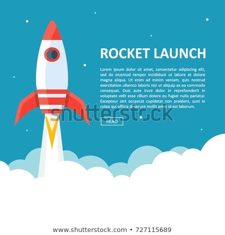 Rocket blast off Stock photo © Lightsource