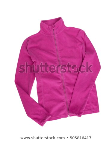 a woman wearing a warm polar fleece jacket Stock photo © photography33