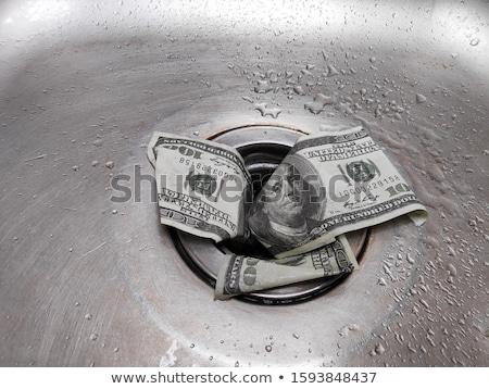 Debole dollaro illustrazione soldi bill Foto d'archivio © Stocksnapper