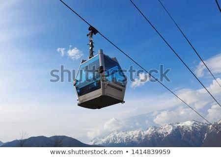 Ski Lift Ride in the Summer stock photo © 805promo