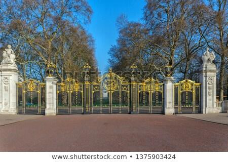 Zdjęcia stock: Royal Canada Gates To Green Park