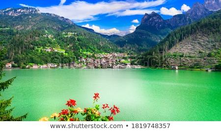 Alpinismo settentrionale Italia Europa sport blu Foto d'archivio © haraldmuc