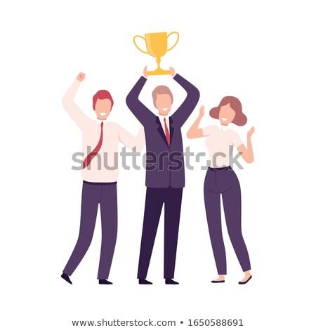 business trophy stock photo © jayfish