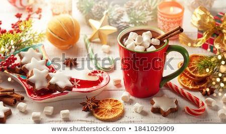 Christmas cookies still life Stock photo © MKucova