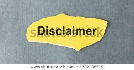 Motivación título pieza papel papel viejo diseno Foto stock © stevanovicigor