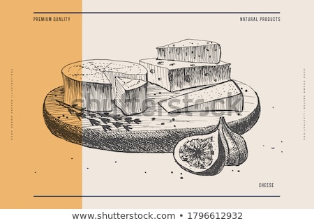 Cheese Board Stock photo © kitch