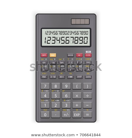 Stock photo: scientific calculator