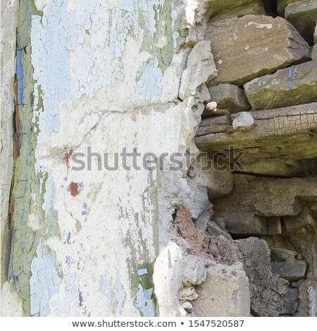 風化した メーソンリー ハンマー 古い木材 垂直 写真 ストックフォト © tab62