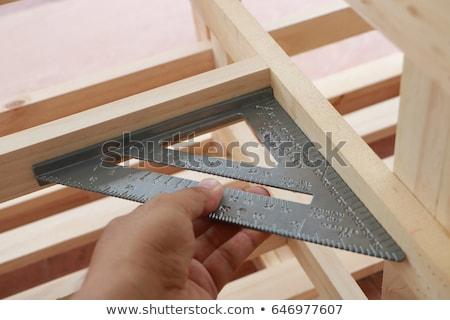szerszámok · öreg · fa · asztal · kalapács · ács - stock fotó © juniart