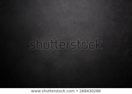 Black leather texture Stock photo © homydesign