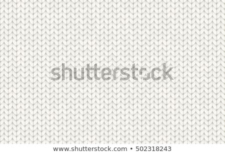 Wol patroon mooie witte hand Stockfoto © Es75