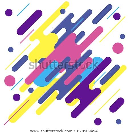 Abstract vector original decor elements Stock photo © tiKkraf69