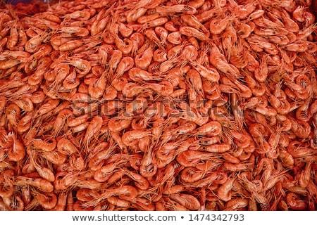 Foto d'archivio: Fresche · frutti · di · mare · insalata · ingredienti · alimentare · pesce