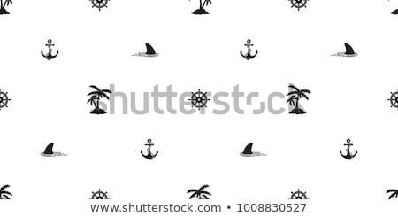 Tengerészeti tenger ikonok végtelen minta modern különböző Stock fotó © vectorikart