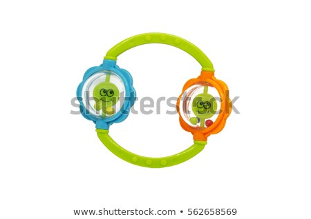 Colorful baby ring rattle  Stock photo © dezign56