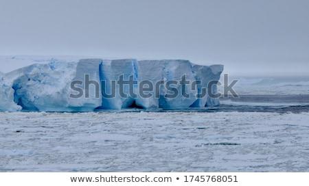 Buz resim halat doğa kar Stok fotoğraf © nialat
