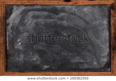 Iskolatábla fehér radír kréta por háttér Stock fotó © PixelsAway