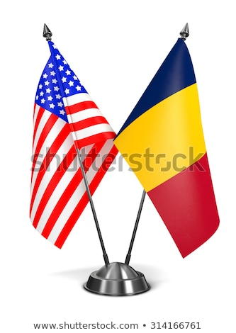 USA and Chad - Miniature Flags. Stock photo © tashatuvango