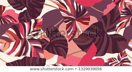 Vintage background with abstract flowers  Stock photo © Morphart