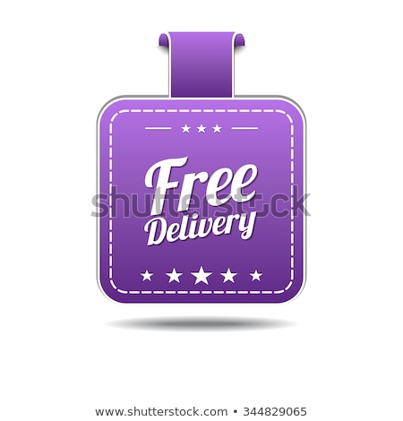 free delivery violet vector icon design stock photo © rizwanali3d