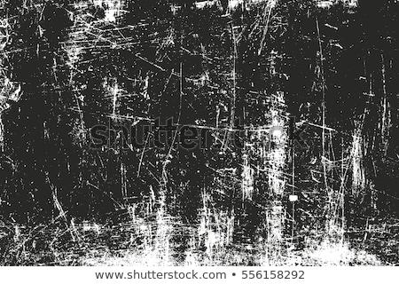 Koszos fekete beton öreg textúra fal Stock fotó © H2O