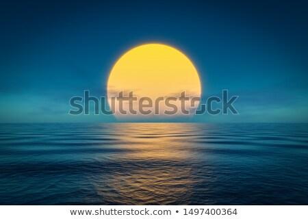 sole · lago · cielo · acqua · luce - foto d'archivio © kayco