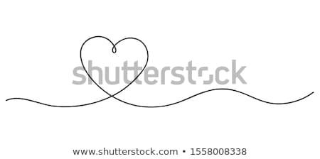 love wedding banners vector stock photo © carodi