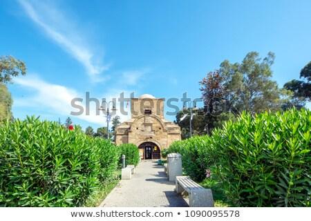 Kapı türk Kıbrıs Bina duvar Avrupa Stok fotoğraf © Kirill_M