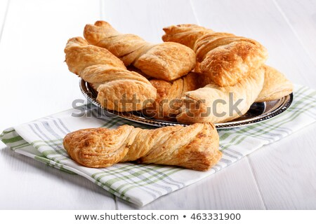 puff pastry with verdure and salmon  Stock photo © fanfo