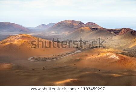火山 · 島 · カナリア諸島 · スペイン · 砂漠 · 山 - ストックフォト © meinzahn