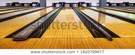 Bowling. Ball is going to hit skittles Stock photo © photocreo