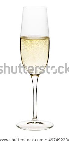 стекла рюмку вино Размышления изолированный Сток-фото © MichaelVorobiev