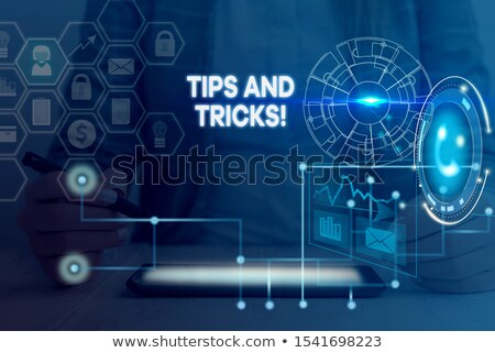 tips and tricks word stock photo © fuzzbones0