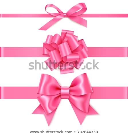 ギフト ピンクリボン バレンタインデー 愛 歳の誕生日 母親 ストックフォト © racoolstudio