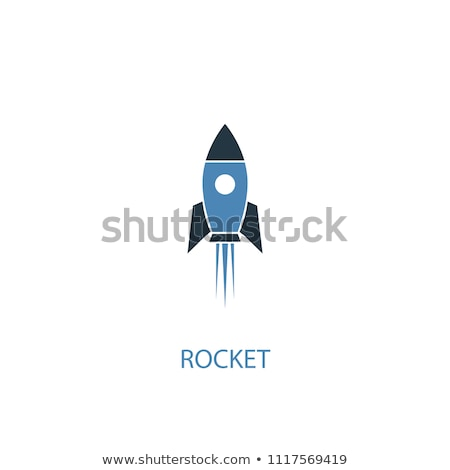colorful rockets icons stock photo © cidepix