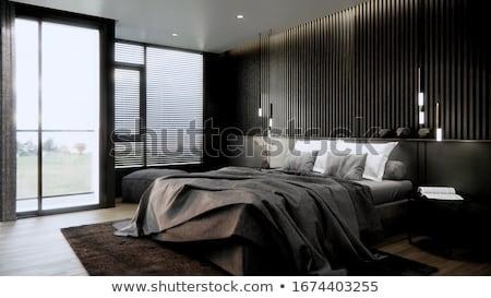 Grey furnitures Stock photo © bluering