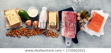 Milk, cheese and yogurt - the main milk products Stock photo © tatiana3337