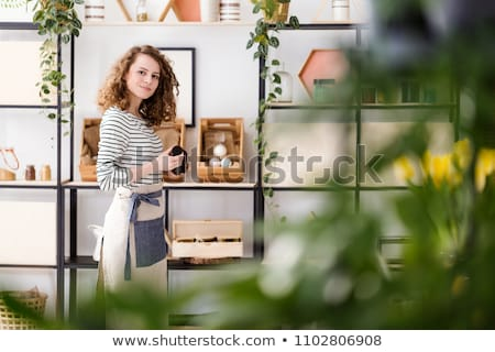 Bio bolt illusztráció egészség vásárlás zöld Stock fotó © adrenalina