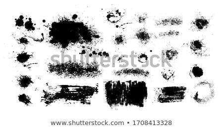 белый цвета краской гальванизированный поверхность стороны Сток-фото © hamik