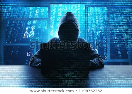 teclado · laptop · rede · trancar · botão - foto stock © racoolstudio