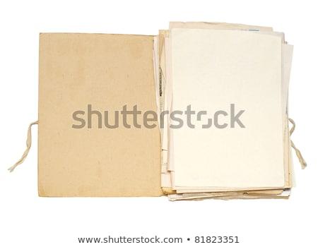 notepaper and file folder Stock photo © devon