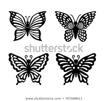 Metal butterflies Stock photo © Zela