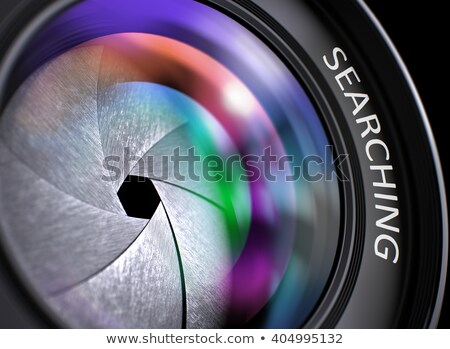 Camera Photo Lens with Inscription Search Results. Stock photo © tashatuvango