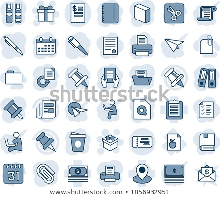 clipboard with business news concept 3d stock photo © tashatuvango