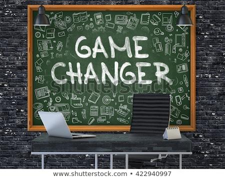 jeu · affaires · politique · changement · idée · innovation - photo stock © tashatuvango