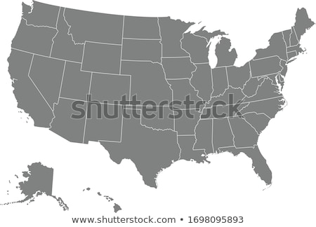 harita · Pensilvanya · yeşil · model · Amerika · kare - stok fotoğraf © kyryloff