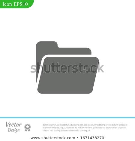 lineair · klok · icon · modieus · stijl · geïsoleerd - stockfoto © kyryloff