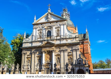 Church of Saints Peter and Paul in Old Town of Krakow, Poland Stock photo © boggy