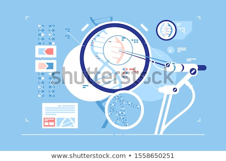 Stock photo: Gene Editing Science