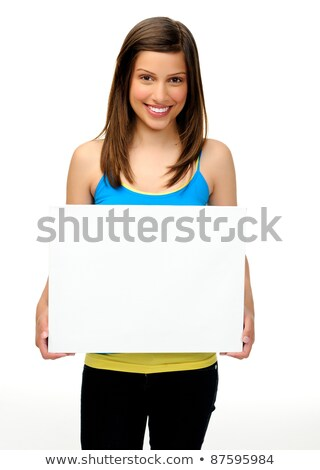 Emotional young asian beautiful attractive woman posing isolated indoors dancing. Stock photo © deandrobot